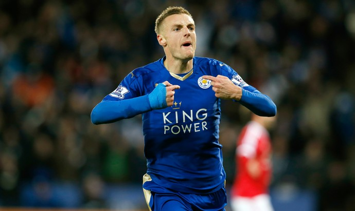 Jamie Vardy Leicester Manchester United (Foto: Reuters)