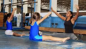 Aulas de ginástica artística (Foto: divulgação)