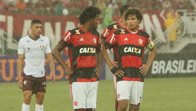 Rafael Vaz William Arão Flamengo x Fluminense (Foto: Alexandre Lago/GloboEsporte.com)