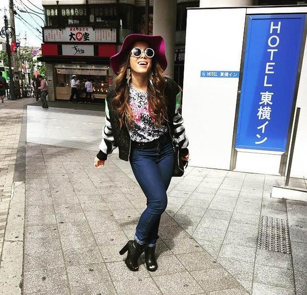 Anitta no Japão (Foto: Instagram / Reprodução)