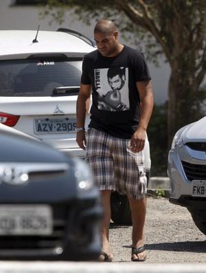 Adriano flamengo  (Foto: Marcos Tristão / Agência O Globo)