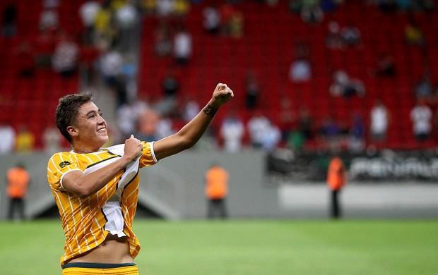 ROmarinho brasiliense gol brasília (Foto: Adalberto Marques / Agência Estado)