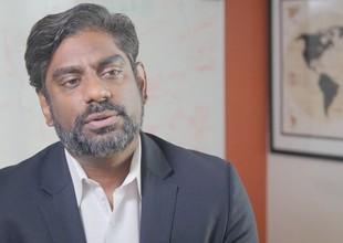Jitendra Kavathekar, diretor geral da Accenture Open Innovation (Foto: Reprodução/YouTube)
