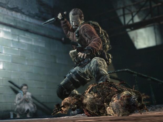 Barry Burton, do primeiro 'Resident Evil', retorna em 'Revelations 2' (Foto: Divulgação/Capcom)