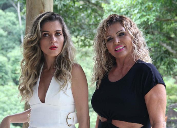 Diana Sabadini e Débora Castro são muito parecidas e também amigas (Foto: Diana Sabadini/ Arquivo Pessoal)