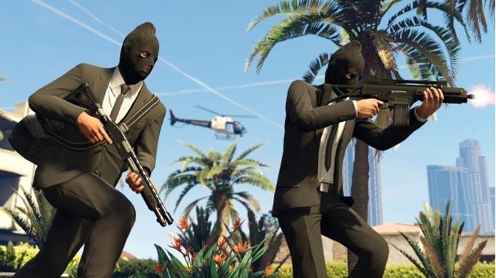 GTA 5: novas missões Heists para GTA Online vão chegar em 2015 (Foto: Divulgação)