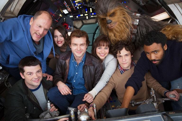 Elenco de spinoff de 'Star Wars' (Foto: Divulgação)