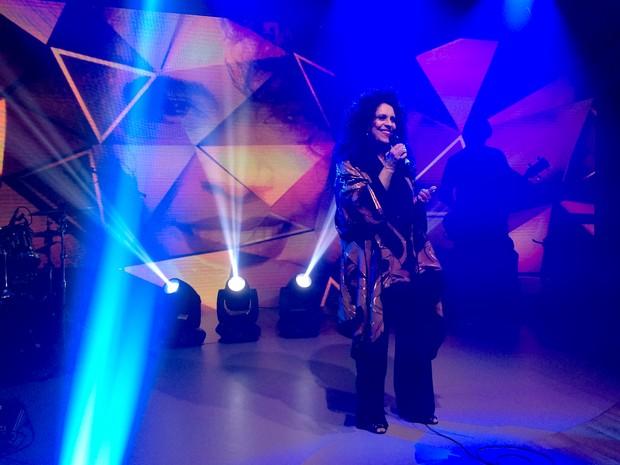 Gal Costa faz show exclusivo e comemora 50 anos de carreira (Foto: (Foto: Leandro Cavalcanti/TV Globo))