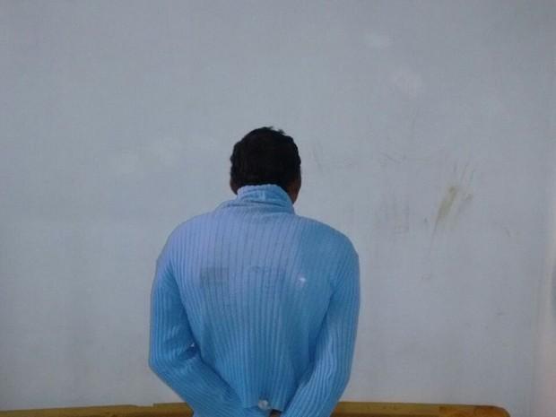 Suspeito de esfaquear estudante foi preso no bairro Menino Deus (Foto: Divulgação/Polícia Civil)