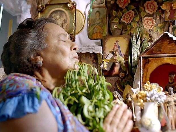 Teuda Bara como Mãe Benta (Foto: Renato Rocha Miranda/TV Globo)