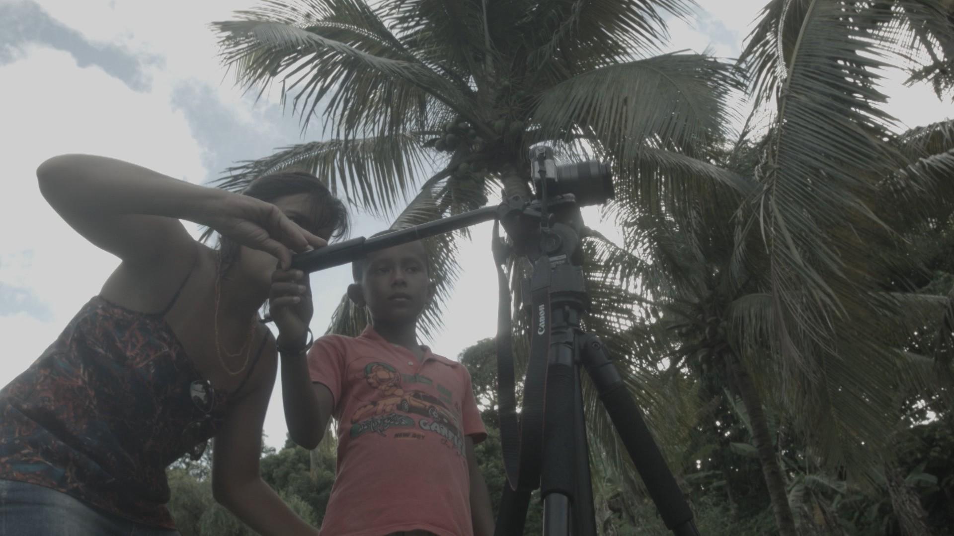 Projeto ministra oficinas de audiovisual a crianças do Arquipélago de Cairu (Foto: Divulgação)