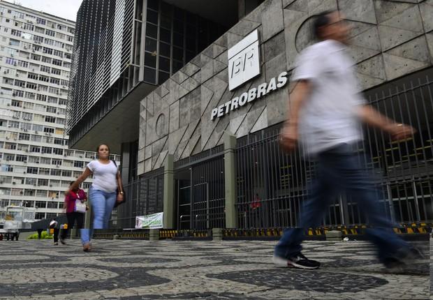 Sede da Petrobras no Rio de Janeiro (Foto: Fernando Frazão/Agência Brasil)