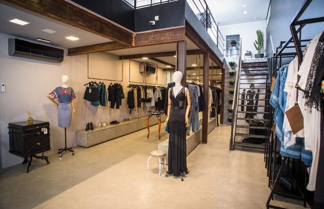 Karin Matheus inaugura loja em SP (Foto: Divulgação)