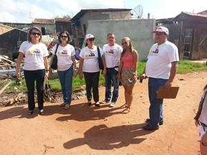 Técnicos Cohab Pará (Foto: Divulgação/prefeitura de Abaetetuba)