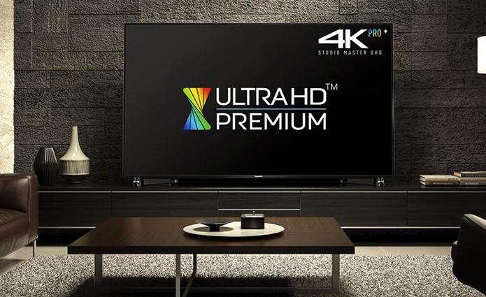 Ultra HD Premium é um selo de qualidade aplicado por alguns fabricantes (Foto: Divulgação/Panasonic)