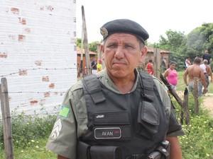 Sargento Ivan Rodrigues, do 6º Batalhão da Polícia Militar (Foto: Ellyo Teixeira/G1)