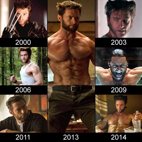 Hugh Jackman já viveu sete vezes Wolverine (Foto: Divulgação)