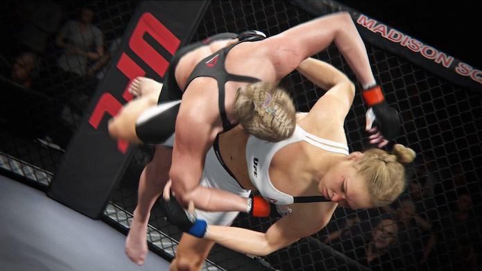 EA Sports UFC 2: finalize os adversários com golpes específicos (Foto: Divulgação/EA Sports)