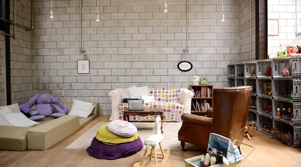 A sala de brinquedos com cantinho acolchoado é um dos espaços da Mamusca  (Foto: Divulgação)