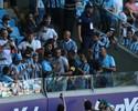 Após visitas, jornalista não descarta volta de atacante Barcos ao Grêmio