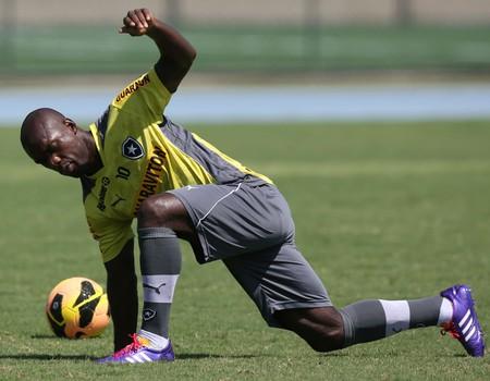 seedorf treino Botafogo (Foto: Satiro Sodré / SS Press)