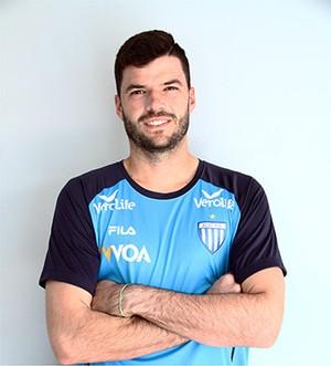 Goleiro avaiano Vitor Prada é cedido por empréstimo ao Remo (Foto: Reprodução/Site oficial do Avaí)