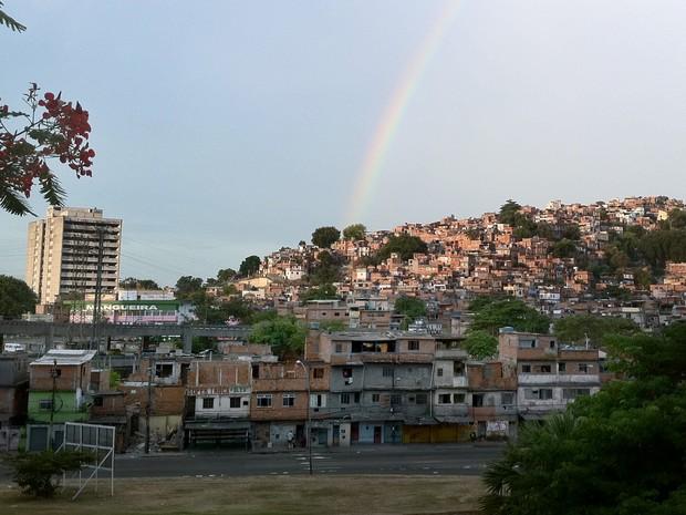 Marcelo Falcão elegeu o Morro da Mangueira como lugar favorito. (Foto: Rogério Santana / Governo do Estado / Divulgação)