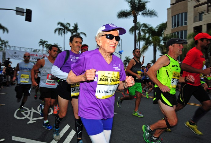 maratona Harriette Thompson (Foto: AP)