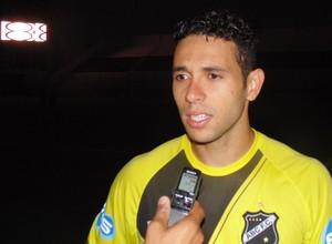 Júnior Timbó - meia do ABC (Foto: Klênyo Galvão)