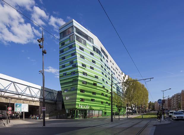 predios-modernos-com-fachadas-incriveis-hipark-hotel-paris-frança (Foto: Reprodução)