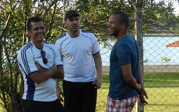 Pezão, Haender e André Neles (Foto: Gullit Pacielle)