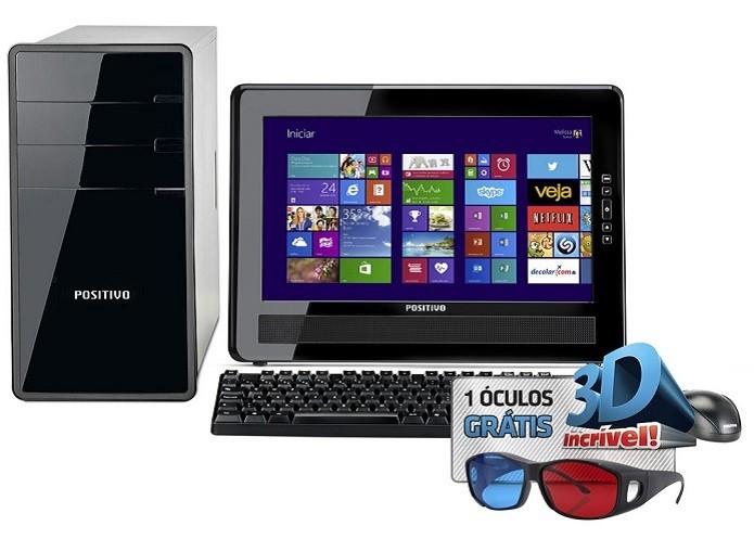 Este desktop completo não custa nem R$ 900 (Foto: Divulgação)