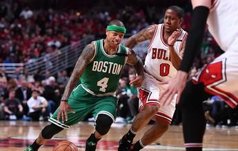 Thomas comanda, Celtics vencem a segunda em Chicago e igualam série