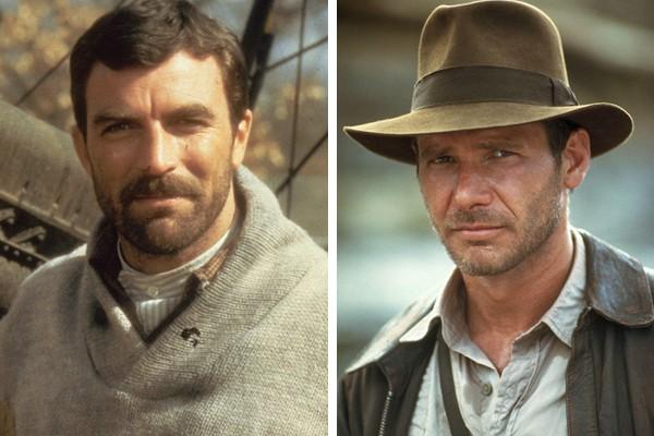 Tom Selleck perdeu o papel de Indiana Jones para Harrison Ford (Foto: Getty Images / Reprodução)