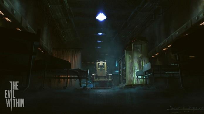 The Evil Within: Habilidades do personagem são melhoradas em uma cadeira elétrica. (Foto: Divulgação)