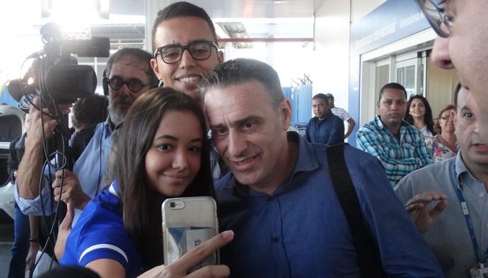 Paulo Bento, técnico do Cruzeiro (Foto: Fernando Martins Y Miguel)