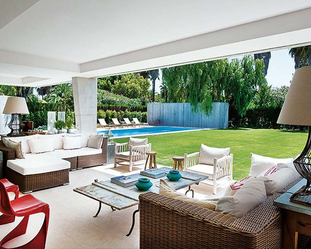D Cor Do Dia Varanda Para Relaxar Casa Vogue Interiores