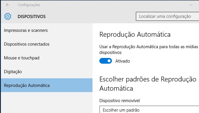 Descubra como ativar e desativar o autoplay de vídeos no Windows 10 (Foto: Reprodução/Edivaldo Brito)