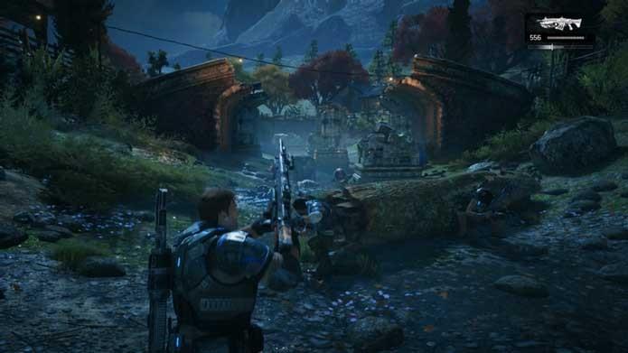 Domine a recarga ativa em Gears of War 4 (Foto: Reprodução/Murilo Molina)