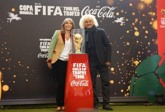 Valderrama Colômbia Tour da Taça Copa 2014 (Foto: Divulgação)