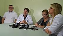 Saúde diz que não teve 'anormalidade' (Aline Nascimento/G1)
