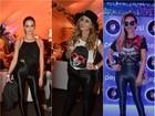 Disco pants é o look escolhido pelas famosas no último dia de Rock in Rio