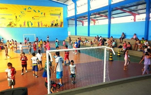 Centro de Convivência da Família Magdalena Arce Daou disponibilizará de seus espaços (Foto: Divulgação)