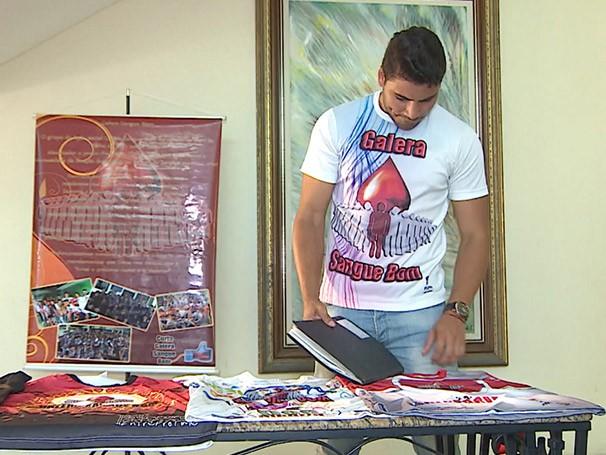 Depois de uma palestra, o universitário Francisco Carlos Filho decidiu criar um projeto de doação de sangue (Foto: Globo)