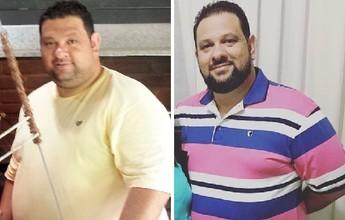 """Empresário troca churrasco por horta e elimina 37kg: """"Melhor decisão da vida"""""""