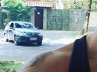 Luana Piovani é seguida por paparazzo e reclama: 'Ladrão'