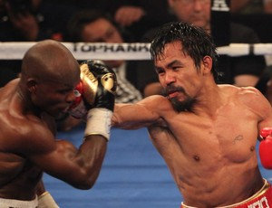 boxe manny pacquiao e timothy bradley (Foto: Agência Getty Images)