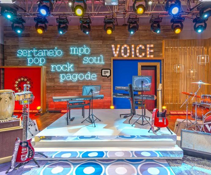 Centro de Realities do The Voice Brasil (Foto: The Voice Brasil / Gshow)
