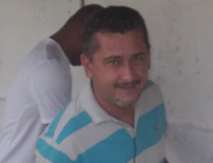 Treinador do Cordino, Leandro Lago, no Campeonato Maranhense 2012 (Foto: João Ricardo/Globoesporte.com)