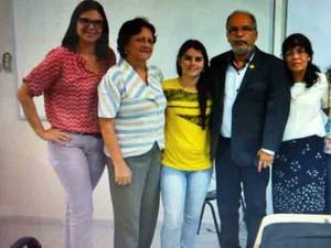 Projeto de aluna de Estatística é usado para melhorar segurança na UFPE (Foto: Drielle Carvalho/Acervo Pessoal)